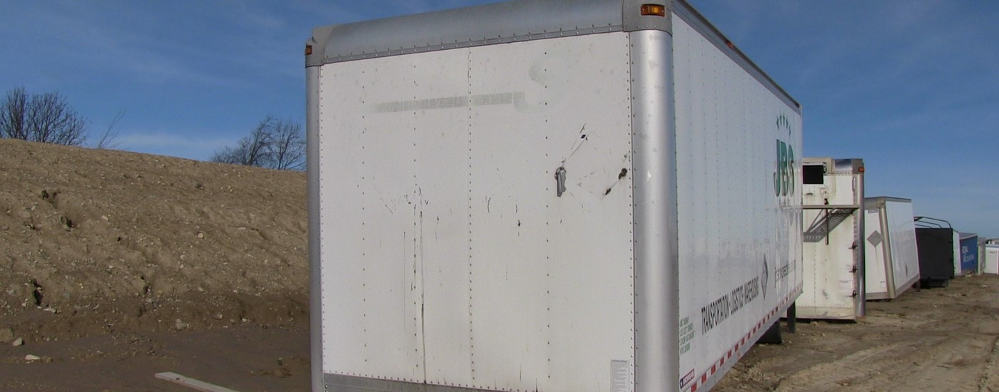 Used Morgan Truck Body Box For Sale Toronto Ontario